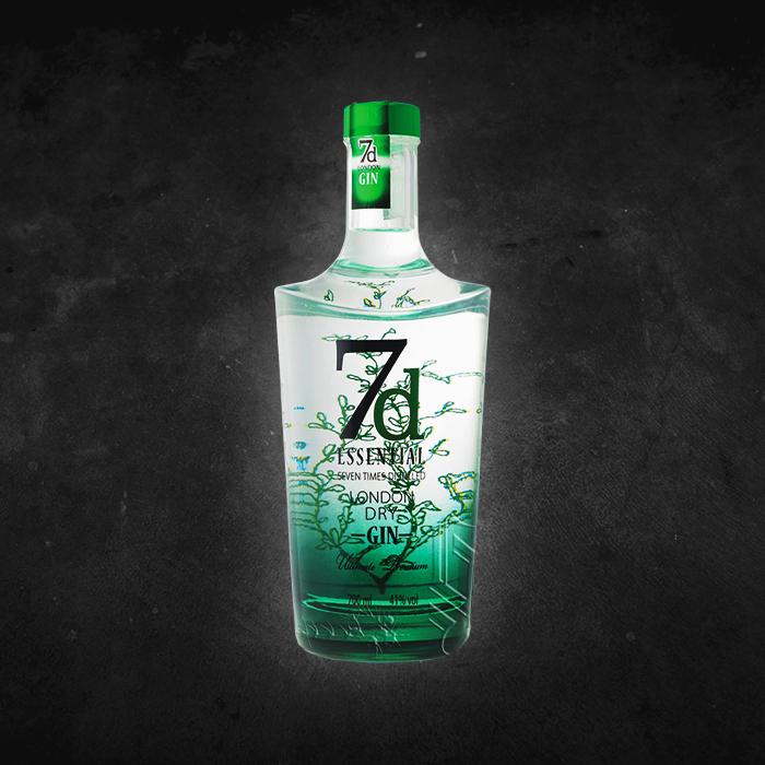Matiz Pombalina Cocktail Bar - London Fry Gin 7D Essential