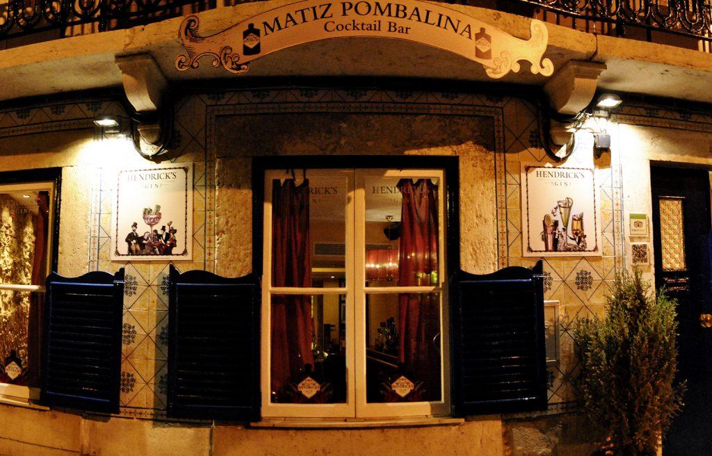 Matiz Pombalina Cocktail Bar - Entrada about us
