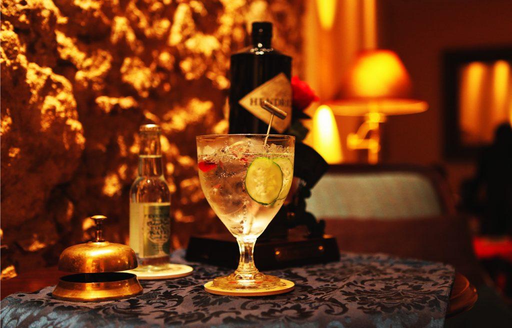 Matiz Pombalina Cocktail Bar - Gin Tonic Hendricks