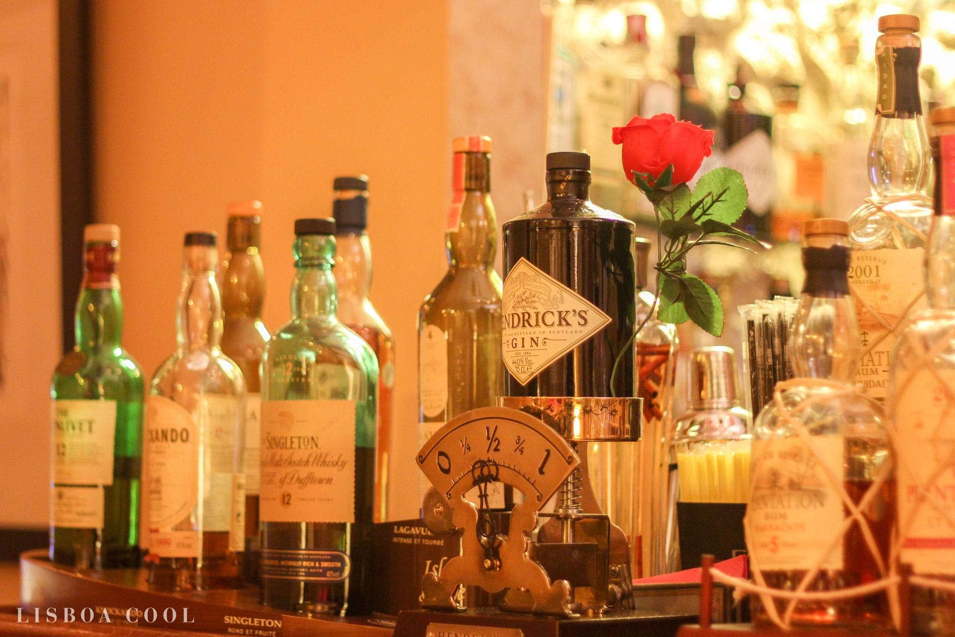 Matiz Pombalina Cocktail Bar - mostrador
