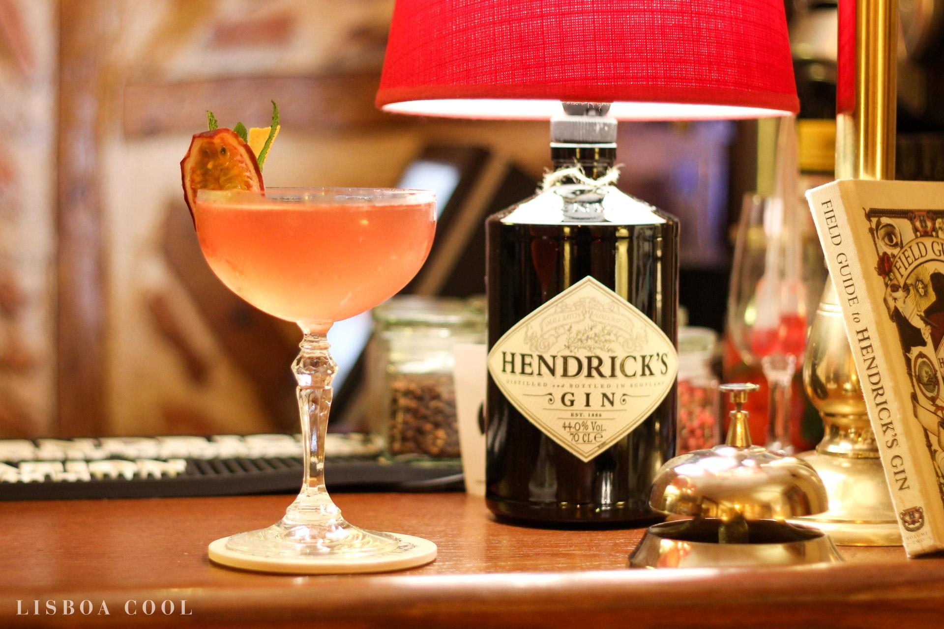 Matiz Pombalina Cocktail Bar - Hendricks Cocktail