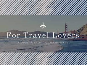 For Travel Lovers